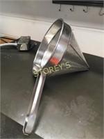 "LG 12"" S/S Cone Strainer"