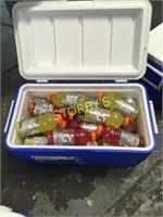 Cooler & 55 Gaterades/Juices