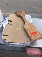 Pizza Boxes & Wood Scrapper