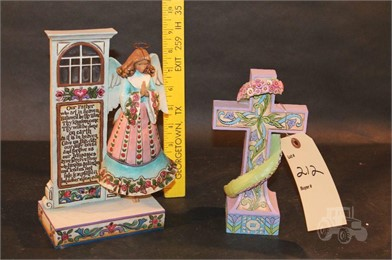 Jim Shore Heartwood Creek Prayer Angel Cross Other Items