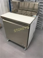 """27"""" Refrigerated Prep Table - as new"""