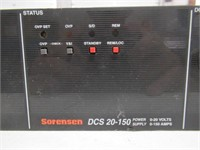 Sorensen DCS20-150 Power Supply 0-20Volts
