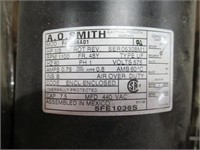 Used A.O. Smith Electric Motor 1100RPM