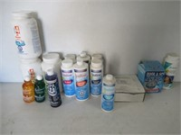 Large Lot of Assorted Pool/Spa Chemicles