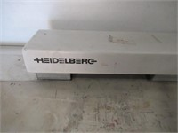 Heidelberg As-Stanze Register Plate Punch