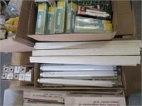 Skid of Assorted Light Bulbs, halogen,