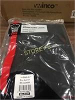 New Full Size Black Bib Apron