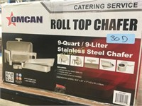 New 9qrt Roll Top S/S Chafer
