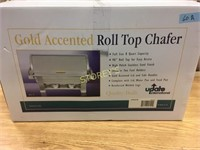 New Gold Accent Roll Top Chaffer