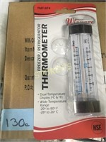 "3.5"" Fridge/Freezer Thermometer"