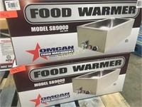 New Omcan Food Warmer
