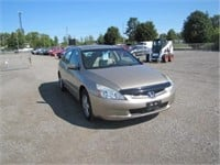 2004 HONDA ACCORD 110687 KMS