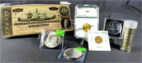 Gold Silver Bullion Currency Online Auction