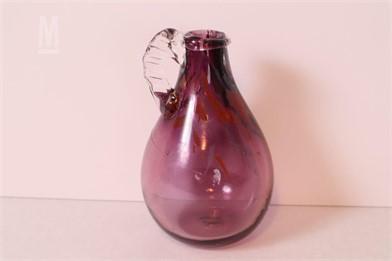 HAND BLOWN AND SIGNED GLASS VASE Other Items Satılık 1