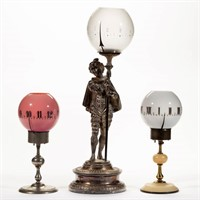 Rare time lamps - Scott collection