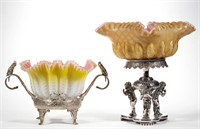 Selection of bride's baskets - Teague collection