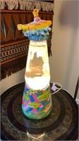 Yellow Submarine Lava Lamp