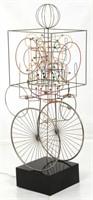 Joseph Burlini (B. 1937), Kinetic Sculpture