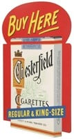 Chesterfield Cigarettes Flange Sign