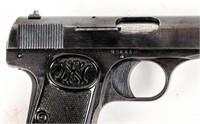 Gun FN 1922 Semi Auto Pistol in 32 ACP Nazi Proofs