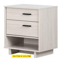 SOUTH SHORE NIGHTSTAND WITH DRAWERS