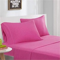 FULL SIZE JERSEY KNIT SHEET SET INCLUDES;