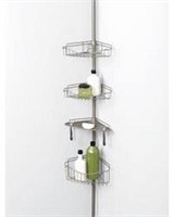 VERSALOT TENSION POLE CORNER SHOWER CADDY
