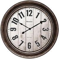 """15.5"""" WALL CLOCK-ANTIQUE"""
