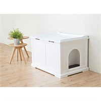 TRIXIE WOODEN PET HOUSE XL WITH LITTER BOX
