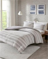URBAN HABITAT 3-PIECE COMFORTER SET, FULL/QUEEN