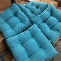4 PIECES OUTDOOR CHAIR CUSHIONS