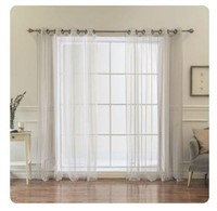 BHF SHEER COLLECTION TWO CURTAIN PANELS