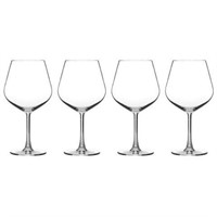 CUISINART GLASSWARE 8 PIECES BURGUNDY