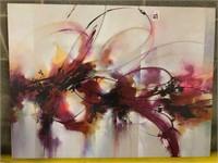 """ART PRINT ON CANVAS, 24""""X32"""""""