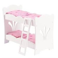 KIDKRAFT LIL DOLL BUNK BED AGES 3+