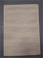 LUNDIN SILVER AREA RUG - APPROX 2' X 3'