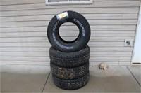 "(4) Set of 15"" Truck Tires"