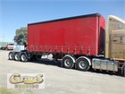 2003 Maxitrans Flat Top Trailer Curtainsider A Trailer