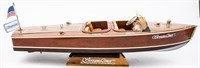 Remote Controlled StreamLiner Wooden Speed Boat