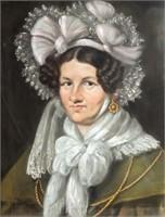 Art Antique Pastel Portraits By Wilhelm Herschel