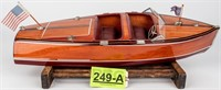 Chris-Craft Wooden Speedboat Replica / Model