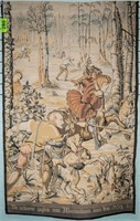"Tapestry ""The Hunt of Maximilian"" After Van Orley"