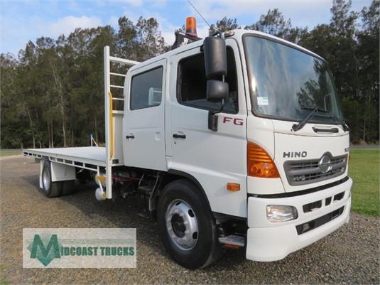 2012 Hino 500 Series 1628 Crew Midcoast Trucks - Trucks for Sale