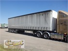 2003 Maxitrans Flat Top Trailer Curtainsider B Trailer