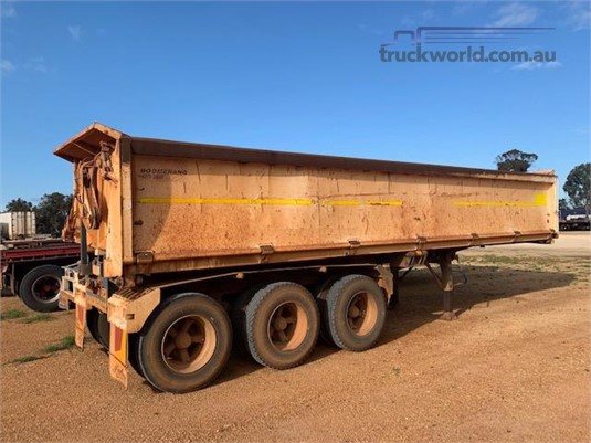2007 Boomerang Side Tipper Trailer - Trailers for Sale