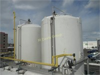 (7) Dairy Silos from 10k - 50k Gallons & Other Related Equip