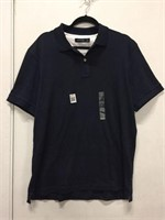 NAUTICA MEN'S COLLARED T-SHIRT SIZE LARGE