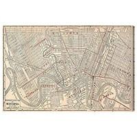 OLIVER GAL WINNIPEG STREET MAP 1911