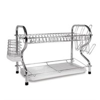 "BETTER CHEF 22"" CHROME PLATED DISH RACK"