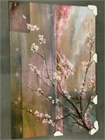 """SAKURA CHERRY BLOSSOM ART PAINTING 60""""x 40"""""""